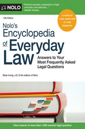 Nolo's Encyclopedia of Everyday Law by Shae Irving