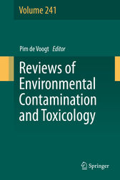 Reviews of Environmental Contamination and Toxicology Volume 241 by Pim de Voogt