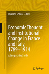 Economic Thought and Institutional Change in France and Italy, 1789–1914 by Riccardo Soliani