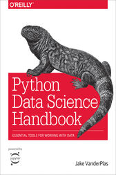 Python Data Science Handbook by Jake VanderPlas