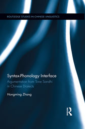 Syntax-Phonology Interface by Hongming Zhang