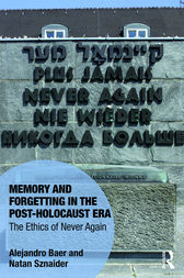 Memory and Forgetting in the Post-Holocaust Era by Alejandro Baer