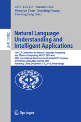 Natural Language Understanding and Intelligent Applications by Chin-Yew Lin