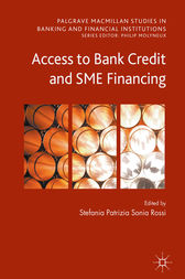 Access to Bank Credit and SME Financing by Stefania Rossi
