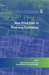 New Principles in Planning Evaluation by Abdul Khakee
