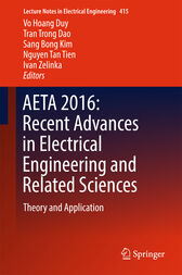 AETA 2016: Recent Advances in Electrical Engineering and Related Sciences by Vo Hoang Duy