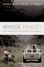 Whose Peace? by Sarah B.K. von Billerbeck