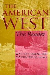 The American West by Walter Nugent