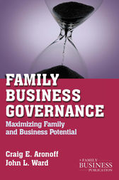 Family Business Governance by C. Aronoff