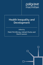 Health Inequality and Development by M. McGillivray