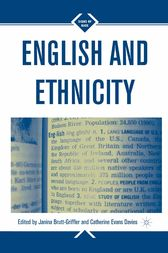 English and Ethnicity by J. Brutt-Griffler