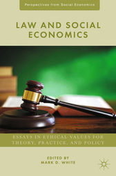 Law and Social Economics by M. White