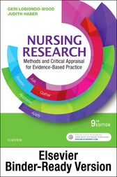 Nursing Research - E-Book by Geri LoBiondo-Wood