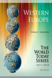 Western Europe 2017-2018 by Wayne C. Thompson