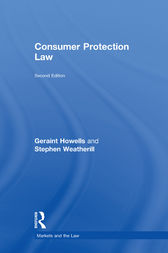 Consumer Protection Law by Geraint Howells