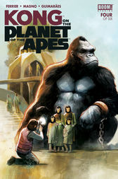 Kong on the Planet of the Apes #4 by Ryan Ferrier